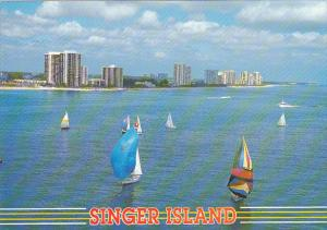 Sailing At Singer Island Florida