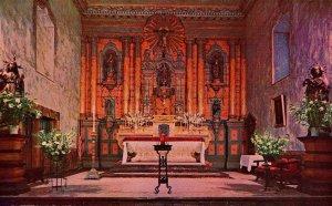 CA - Santa Barbara. The Mission, Main Altar