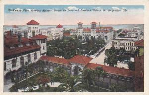 Birds Eye View Showing Alcazar Ponce De Leon And Cordova Hotels St Augustine ...