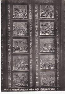 Italy Firenze Battistero La Porta Principale Lorenzo Ghiberti