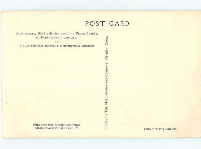 Pre-1980 MUSEUM SCENE Winterthur - By Wilmington Delaware DE AG1336