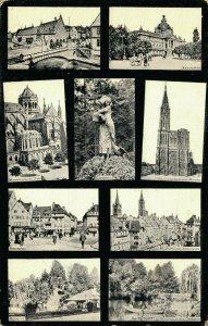 France Strassburg Münster Kaiserpalast Orangerie Posted 03.37