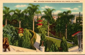 California Hollywood The Japanese Gardens 1937