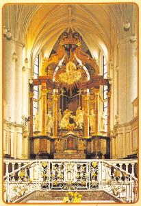 Netherlands Hoogaltaar Abdijkerk Thorn interior, inner, religious