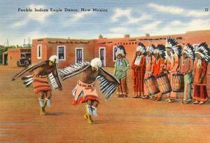 Pueblo Indian Eagle Dance, New Mexico