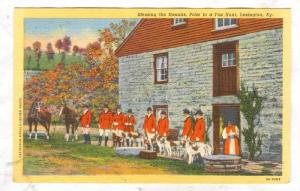 Blessing the Hounds, Prior to a Fox Hunt, Lexington, Kentucky, 20-40s