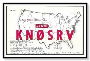 Nebraska, Sutton QSL Ham Radio - (MX-010)