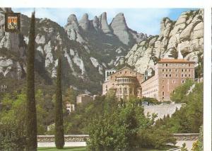 Postal 045339 : Montserrat (Barcelona). Abside de la Basilica