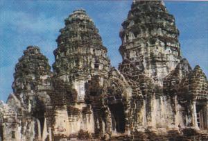 Thailand Pra Prang Sam Yot Lopburi Hindu Shrine