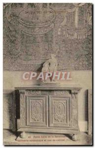 Paris Old Postcard Musee des Arts Decorative Small dining al symbolic Renaiss...