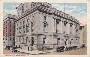 West Virginia Wheeling Post Office 1917