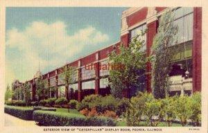 EXTERIOR VIEW OF CATERPILLAR DISPLAY ROOM, PEORIA, IL