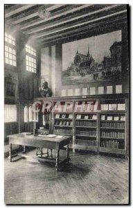 Old Postcard Library Rouen House of Pierre Corneille