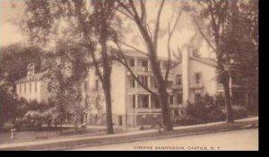 New York Castile Greene Sanitarium  Artvue