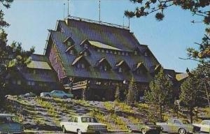 Wyoming Yellowstone National Park Old Faithful Inn