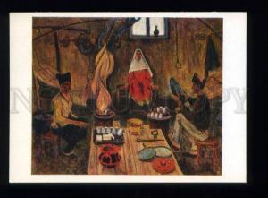 166244 Dagestan KUBACHI Blacksmith by RABADANOV old postcard