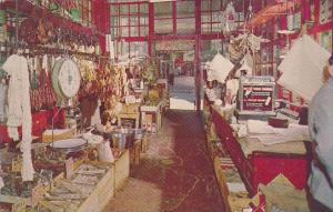 Interior Oriental Food Store Chinatown San Francisco California
