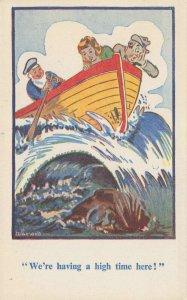 Comic Postcard Garland, Rudolf & Co. W121, Seaside Joke, Humour KK7