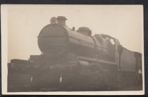Railway Transport Postcard - Unknown Locomotive - Train No 82 -  DC679