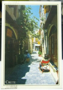 Greece Crete Typical Street view - posted 1995
