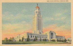 LINCOLN, Nebraska, 1930-40s; New State Capitol