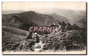 Old Postcard Le Mont Dore Puy de L Angle