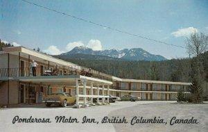 Ponderosa Motor Inn, GOLDEN, B.C., 1950-60s