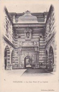 France Toulouse La Cour Henri IV au Capitole