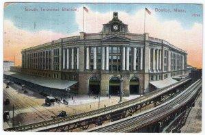 Boston, Mass, South Terminal Station