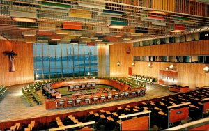New York City United Nations Trusteeship Council Chamber 1958