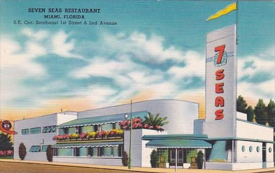 Florida Miami Seven Seas Restaurant