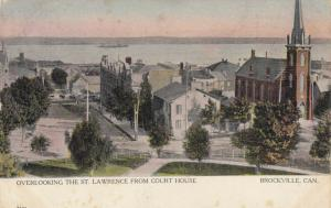 BROCKVILLE , Ontario , 1905 ; View from Court House