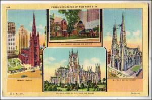 Famous Churches of NYC