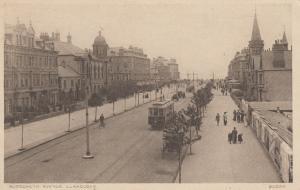 LLANDUDNO, Wales, UK, 1900-10s; Gloddaeth Avenue, Trolley