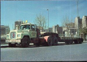 Vintage Trucks on Postcards GERMANY 1966 MACK E