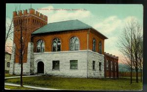 Allegheny College Gymnasium Meadville PA used c1909