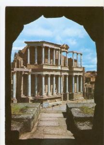 Postal 035424 : Merida. Escena Teatro Romano