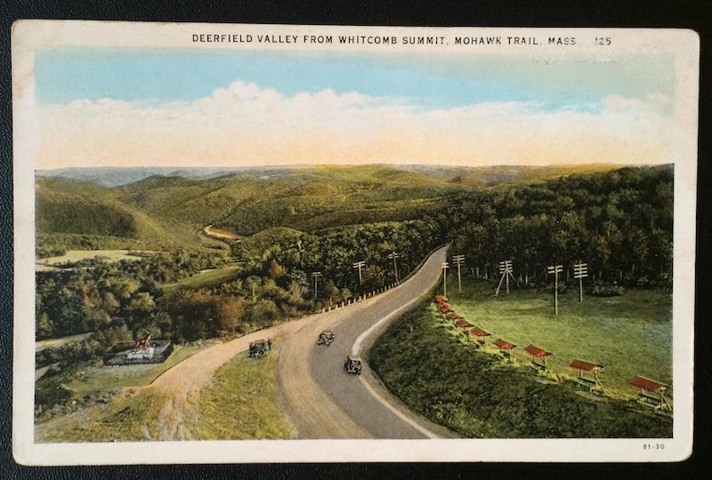 Deerfield Valley From Whitcomb Summit, Mohawk Trail, Mass. TC Co. Chicago 125
