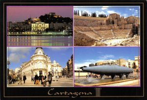 Spain Multi View Postcard, Cartagena FK6