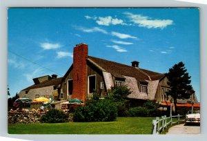 Cape Cod MA, Falmouth Playhouse, Chrome Massachusetts Postcard