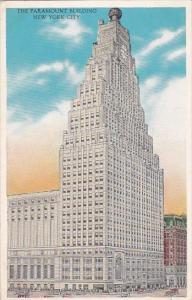 New York City The Paramount Building