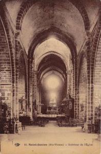 Saint-Junien (Hte-Vienne) - Interieur de l'Eglise , France , 00-10s