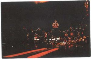 College Ave at Christmas,m Appleton, Wisconsin, WI, Chrome