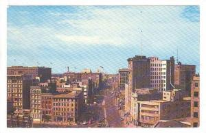 Portage Avenue Looking West From Main St, Winnipeg, Manitoba, Canada, 40-60s