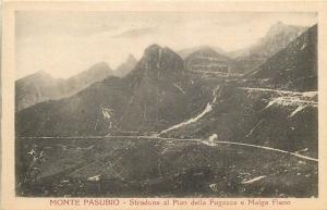 ITALIA Italy Monte Pasubio Stradone al Pian della Fugazza e Malga Fieno