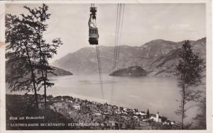 Switzerland Luftseilbahn Beckenried Klewenalp 1938 Photo