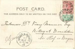 australia, BALLARAT, Victoria, General View Sturt Street (1905) Postcard