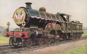 LBSC Class For H1 French President at Brighton Train Postcard