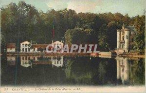 Old Postcard Chantilly Chateau de la Reine Blanche