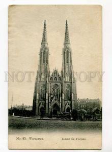 271102 POLAND WARSZAWA St. Florian Church Vintage postcard